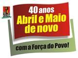 40 anos Abril e Maio de Novo, com a força do povo