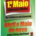 1 maio em Évora