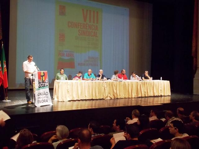 VIII Conferência Sindical da USDE.
