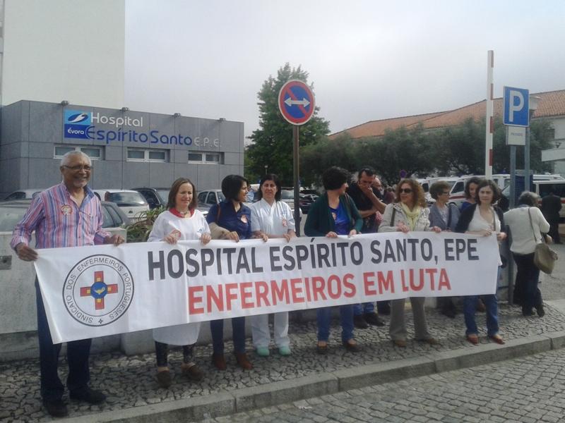 Concentração Greve dos Enfermeiros
