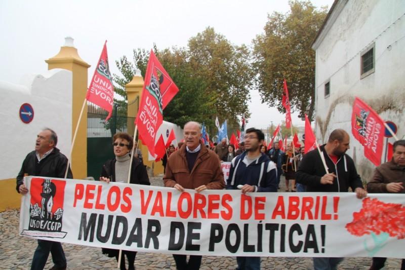 Marcha em Évora 1
