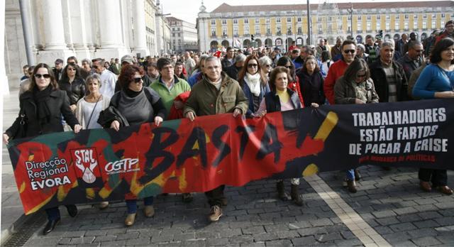 Manifestação do STAL 4 Dezembro em Lisboa