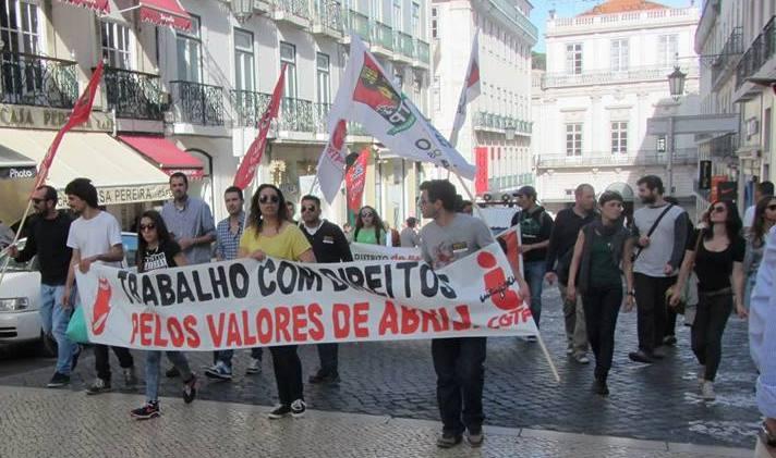 28 Março - Manifestção Lisboa 1