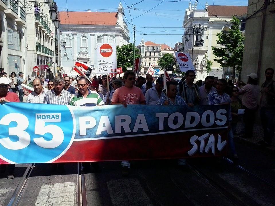 Luta Trabalhadores CM Arraiolo 35 Horas