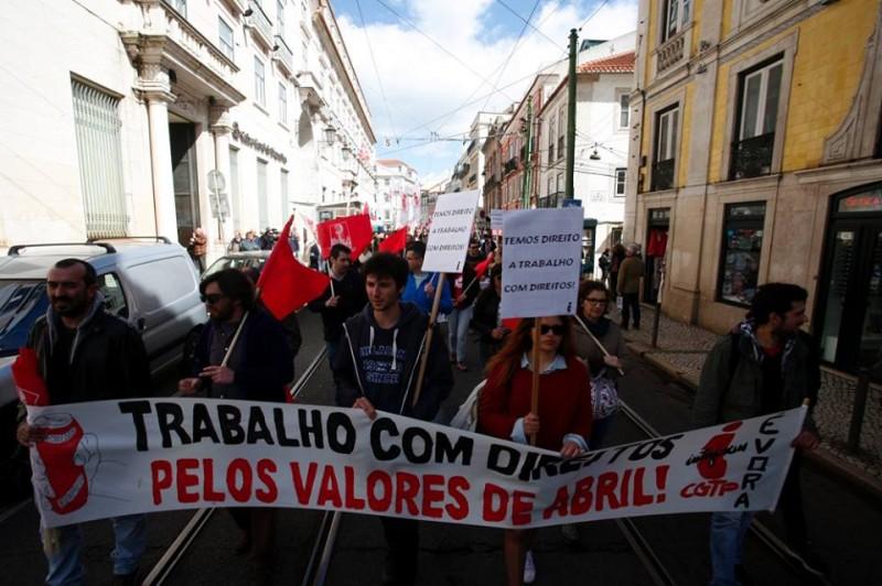 Manifestação Jovens Trabalhadores