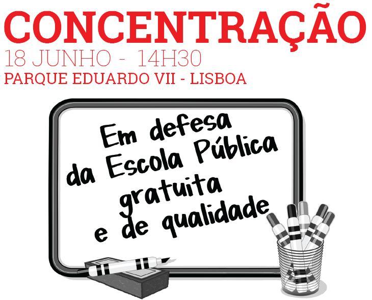 18 Junho - Defesa Escola Pública