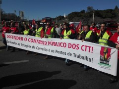 Manifestação CTT
