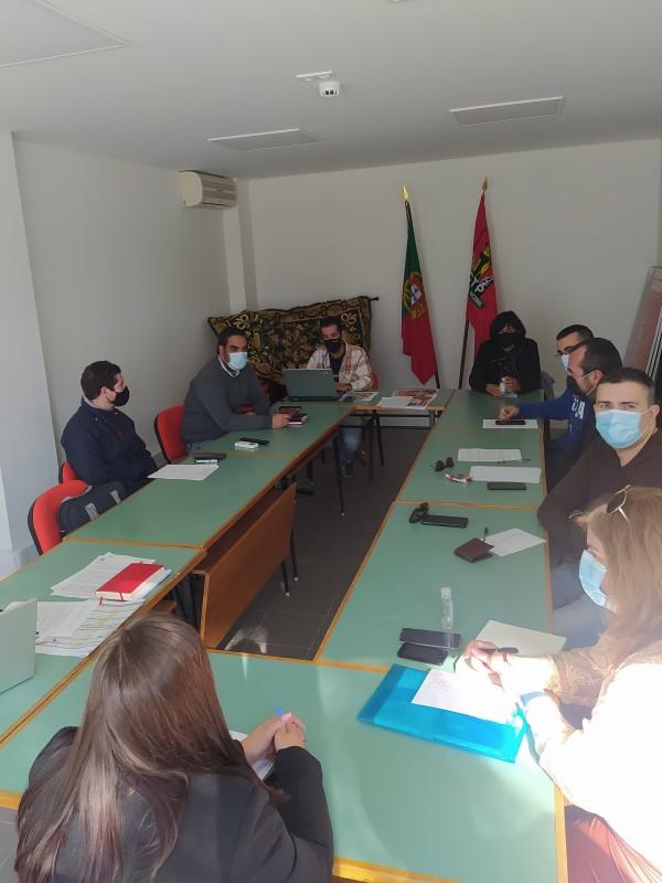Reunião da Direcção da USDE
