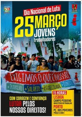 25 Março Jovens trabalhadores