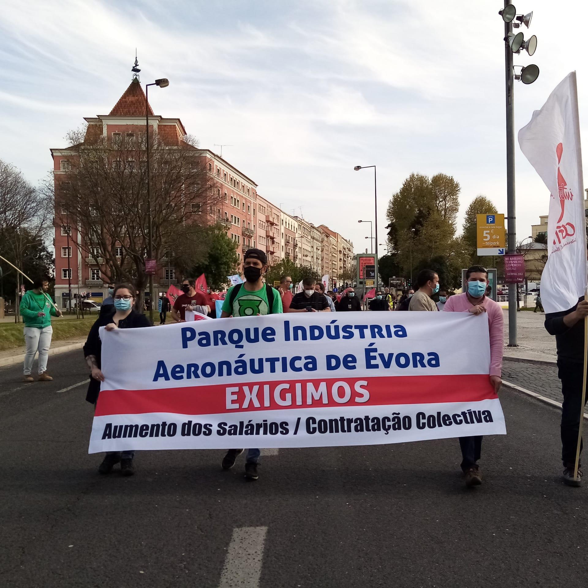 25 Março Manifestação Jovens trabalhadores