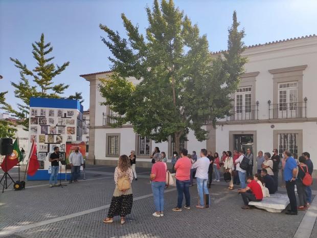 Inauguração da Exposição 50 anos da CGTP-IN Évora